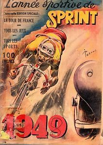 ATHLETISME - FOOTBALL - CYCLISME - BOXE - L'ANNEE SPORTIVE DE SPPRINT 1949