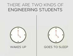 Two Kinds Of Engineering Students I feel like I'm the one on the right... As soon as high school is over I'll find out