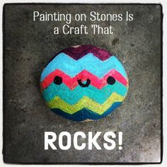 Really great page of useful info about painting rocks - what to do w them, how to paint, sand, etc