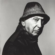 André Kertész (1894-1985) Hungarian-born photographer known for his ground breaking contributions to photographic composition and the photo essay. In the early years of his career, his then unorthodox camera angles and style, prevented his work from gaining wider recognition. Today he is considered one of the seminal figures of photojournalism. photo by Irving Penn (1983)