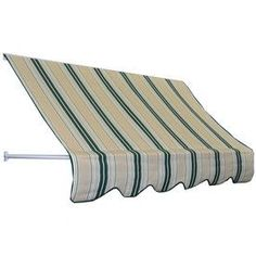 Americana Building Products 48-In Wide X 24-In Projection Green Beige