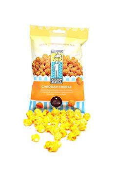 Gary Poppins Cheddar Cheese Popcorn Bag 12 Pack * See this great product. Cheese Popcorn, Popcorn Bags, Gourmet Cheese, Cheddar Cheese, Dog Food Recipes, Image, Cheddar