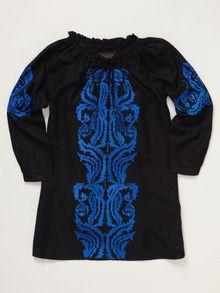 Aroma Embroidered girls Dress by Antik Batik at Gilt