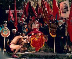 Arsen Savadov. Collective Red (1999)