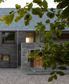 Timber clad house. McLean Quinlan