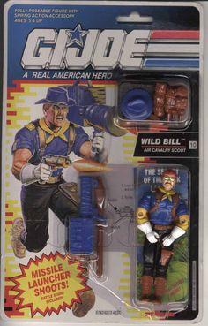 Wild Bill (v2) G.I. Joe Action Figure - YoJoe Archive