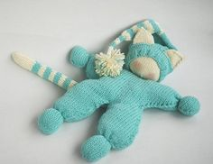 The finished Doll is 18,11'' x 12,2'' ( 46cm x 31cm ) The best doll for the small babies.The toy is knitted round and with DOUBLE KNİTTİNG that is why the pattern is recommended for Advanced Beginner Knitters.The patterns includes instruction with pictures how to make Waldorf knitted Cat doll and his hat with holes for ears + unlimited email help from me in case you get stumped.Materials needed  4 double-pointed needles in a size suitable for the yarn weight you are using. I recommend using…