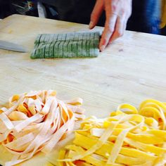 Ready for our Tagliatelle?