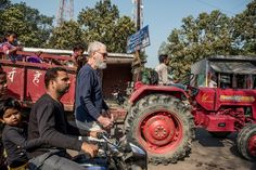 David Letterman in India, where he traveled to report on climate change for the documentary series 'Years of Living Dangerously' on the National Geographic Channel | The New York Times