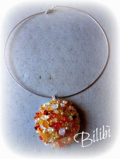 Bilibì: amber pendant