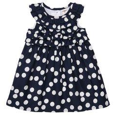 Polka Dot Sleeveless Dress (OshKosh B'gosh)