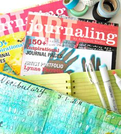 Putting Pen and Paint to Paper Inspiring Art Journaling Collection