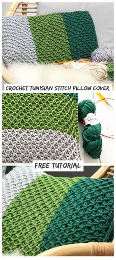 Today is a special day, we are going to learn how to crochet a pillow cover. I am sure you would love to have some decor changes … Crochet Cushion Cover, Crochet Cushions, Crochet Pillow, Crochet Yarn, Crochet Books, Tunisian Crochet Free, All Free Crochet, Learn To Crochet, Crochet Ideas