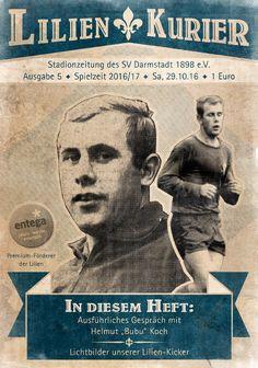 Traditionstag / Lilienkurier Nr. 5 / SV Darmstadt 1898 e.V. - Leipzig /  30.10.2016