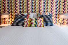 Children's bedroom interior - #designedbyjustso #harlequinfabric #harlequinwallpaper #childrensbedroom