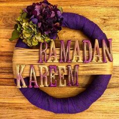 More Decoration : http://www.kadinika.com Counting down for Ramadan book now for your home decoration #blast  For more info  DM US  OR BY EMAIL b.blast@outlook.com