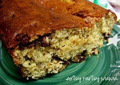 artsy-fartsy mama: Easy Banana Bread using yellow cake mix