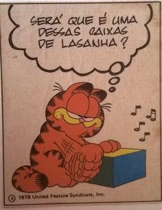 Figurinhas que eu colocava na agenda. #Garfield