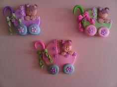 Figuras de porcelana fría para baby shower - Imagui