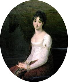 Princess Zofia Czartoryska (1778 – 1837, Polish noble lady) by Robert Jacques François Faust Lefèvre (French, 1755-1830), Kozłówka Palace (Poland)