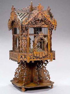 Coisas de Terê - folk art birdcage