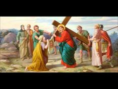 Stations of the Cross  by St. Alphonsus Liguori - Sacred Art Series  with Latin Stabat Mater- YouTube