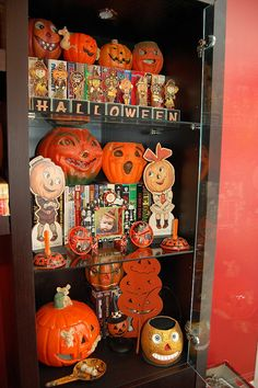 Vintage and antique jack-o-lantern collection