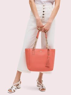 Handbags, Clothing, Jewelry and All Your New Favorites! Bridal Planner, Commuter Bag, No Show Socks, Kingston, Pebbled Leather, Fit And Flare, Bucket Bag, Kate Spade, Coral