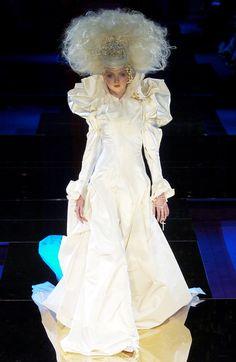 Les Mariées: 10 of Christian Lacroix's Most Beautiful Couture Brides?url=http://www.style.com/slideshows/slideshows/trends/fashion/2015/7/christian-lacroix-couture-brides/slides