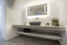 Grecia: sale da bagno in bianco e blu   Un blog sulla cultura dell'arredo bagno