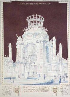 Otto Wagner - Academy of Fine Arts, Vienna