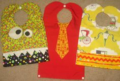 Little Ella Lu: Baby Bibs a Plenty.  These are just too cute!