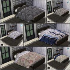 Simenapule: Blanket Duvet 01 • Sims 4 Downloads