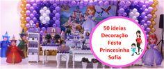O tema de decoração da festa de hoje no blog é o um dos temas mais pedidos, Princesinha Sofia, uma princesinha que não liga somente para vestidos e festas, pois tem em seu coração a generosidade, lealdade e honestidade e isso sim a torna uma verdadeira princesa.  Acompanhe no blog 50 ideias de decoração Festa Princesinha Sofia ----> http://www.minhaprincesasophia.com.br/2013/11/50-ideias-para-decoracao-festa.html