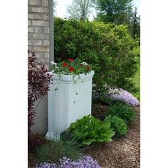 Mayne - Madison Rain Catcher in White - 5847-WH - Home Depot Canada