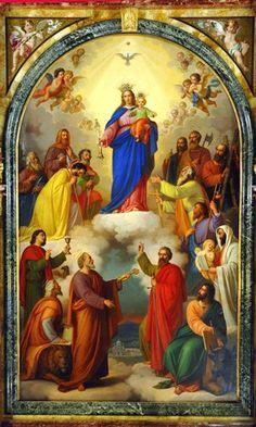 Maria Auxilium Christianorum Ora Pro Nobis - Mary Help of Christians pray for us, Celebration May 24th