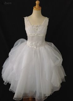 Christie Helene P1305 | First Communion Dress | www.BocelliBoutique.com