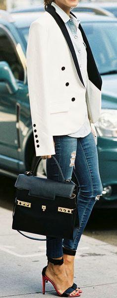 Tux blazer
