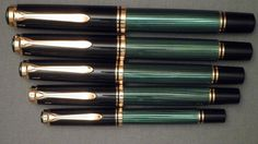 Pelikan M1000, M800, M600, M400 and M300.