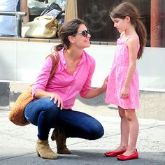 PINK LADIES photo | Katie Holmes, Suri Cruise