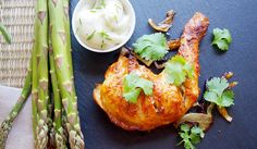 Tandoori-Style Roasted Chicken | As popular as tandoori chicken is at local Indian restaurants, I can wait to try this healthy, easy version at home!