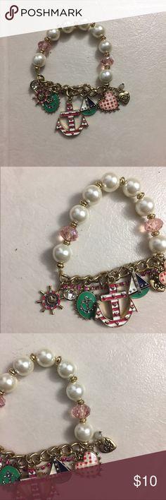 Betsey Johnson Bracelet Never worn, Betsey Johnson Charmed Bracelet! ✨ Betsey Johnson Jewelry Bracelets