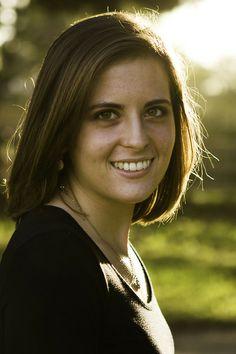 Senior Portrait at Sunset - Claire Laminen Photography