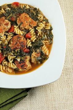Italian Wedding Soup. Grab a spoon and dig in to this delicious dinner recipe!
