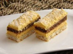 Recipe for Coconut dream dessert, perfect dessert if you don't have a lot of time! Bake my cake, it's easy to make! Coconut Recipes, Cream Recipes, Baking Recipes, Cupcake Recipes, Dessert Recipes, Kiflice Recipe, Croation Recipes, Croatian Cuisine, Bake My Cake