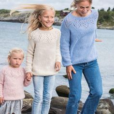 4 vind-ik-leuks, 1 reacties - Garnhuset Madla (@garnhusetmadla) op Instagram: 'Tirilgenser for liten og stor #børstetalpakka #sandnesgarn' Knits, Crocheting, Knit Crochet, Pullover, Knitting, Instagram Posts, Sweaters, Fashion, Tejidos