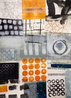 Lucie Par Ici: Working the Grid Mixed Media Collage, Collage Art, Creation Art, Art Sculpture, Damier, Art Textile, Mark Making, Art Portfolio, Art Plastique