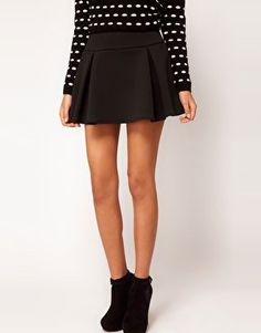 #asos                     #Skirt                    #ASOS #Structured #Skater #Skirt #with #Pleats #asos.com                      ASOS Structured Skater Skirt with Pleats at asos.com                                                    http://www.seapai.com/product.aspx?PID=1349470