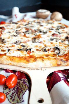 homemade pizza dough | The Baking Fairy
