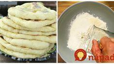 Langoše po turecky: Len 4 prísady a výborná náhrada pečiva je na stole – na grilovaču ich robím namiesto chleba! Ale, Pancakes, Breakfast, Pizza, Food, Hampers, Morning Coffee, Ale Beer, Essen